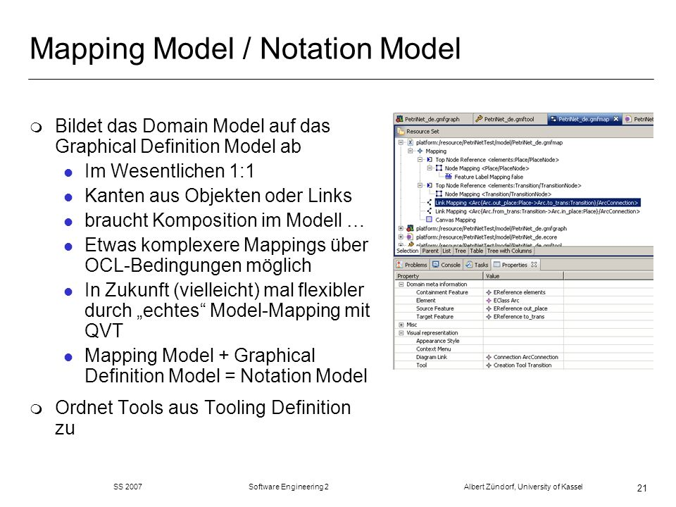 Mapping Model / Notation Model