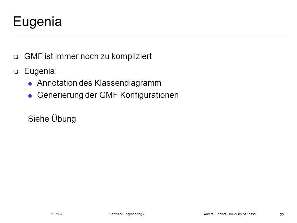 Eugenia GMF ist immer noch zu kompliziert Eugenia: