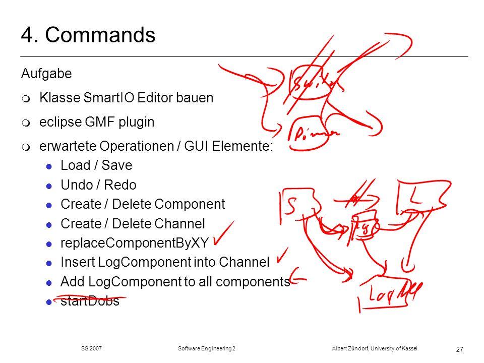 4. Commands Aufgabe Klasse SmartIO Editor bauen eclipse GMF plugin