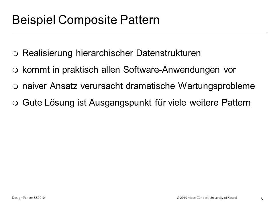 Beispiel Composite Pattern