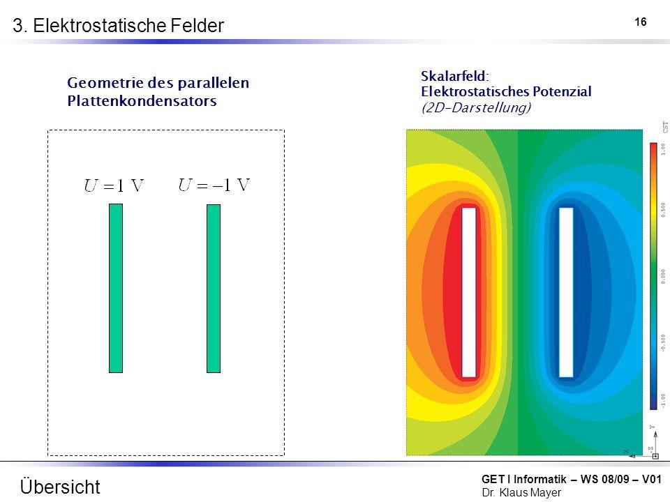 3. Elektrostatische Felder