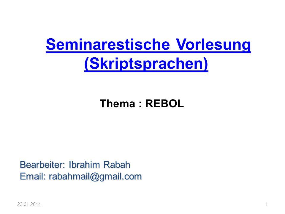 Seminarestische Vorlesung