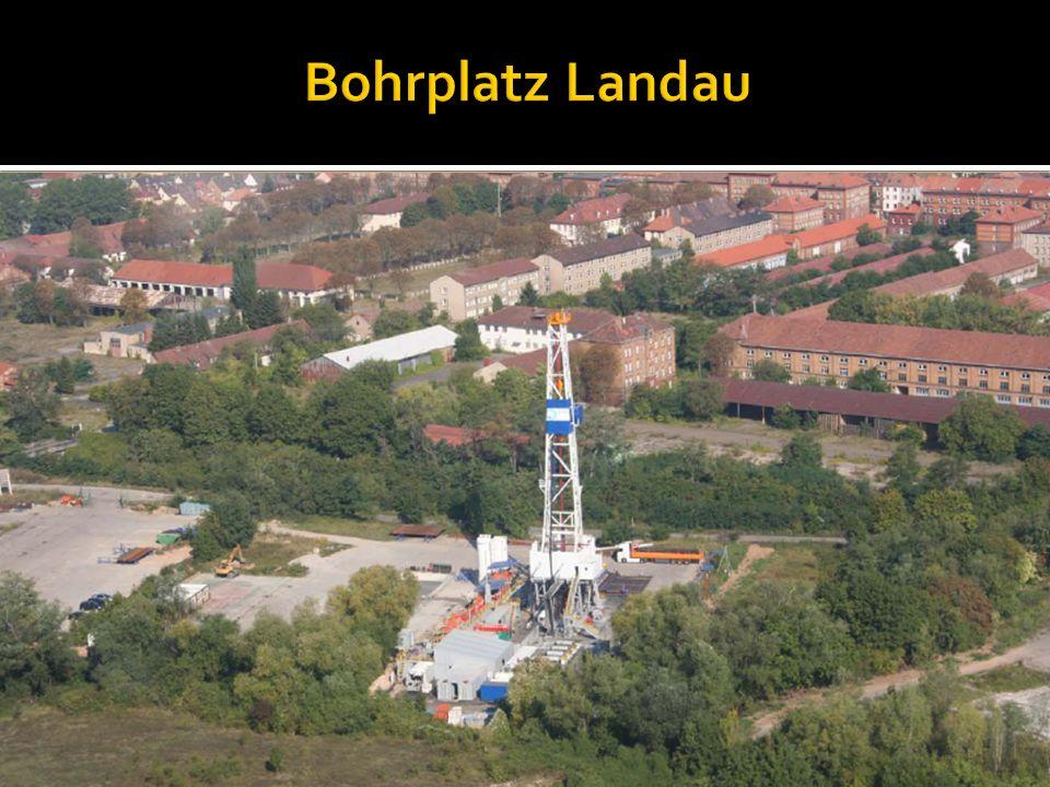 Bohrplatz Landau