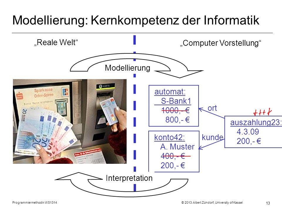 Modellierung: Kernkompetenz der Informatik
