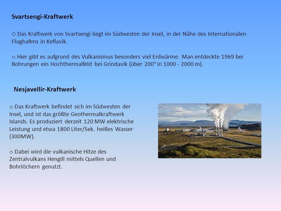 Svartsengi-Kraftwerk