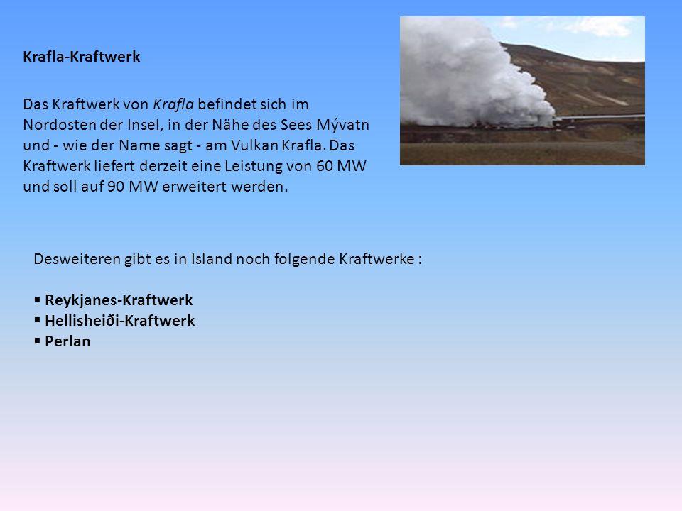 Krafla-Kraftwerk