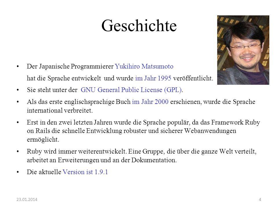 Geschichte Der Japanische Programmierer Yukihiro Matsumoto