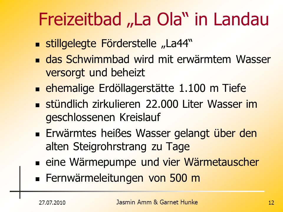 "Freizeitbad ""La Ola in Landau"
