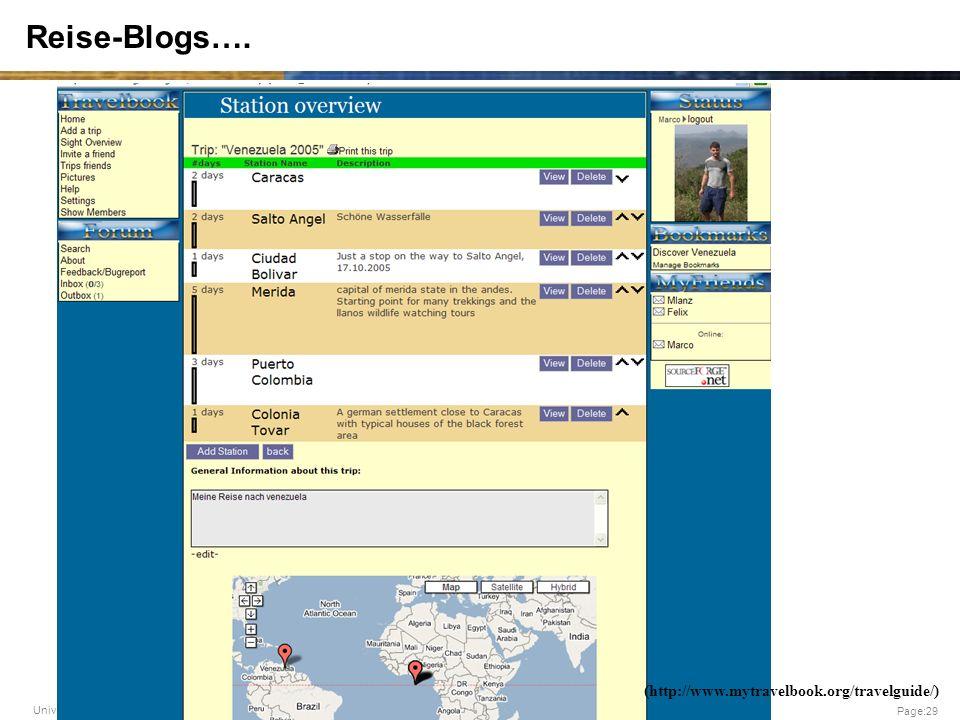 Reise-Blogs…. (http://www.mytravelbook.org/travelguide/)