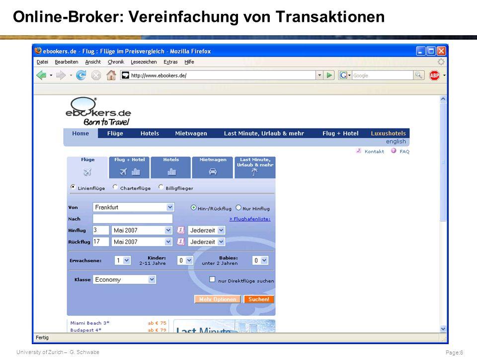 Online-Broker: Vereinfachung von Transaktionen