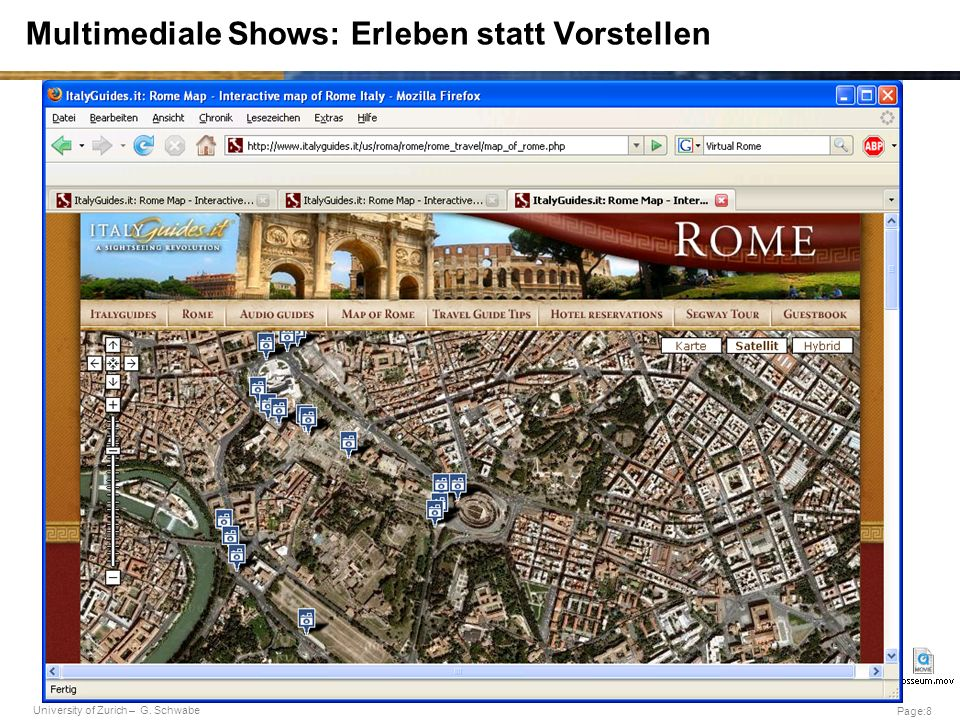 Multimediale Shows: Erleben statt Vorstellen