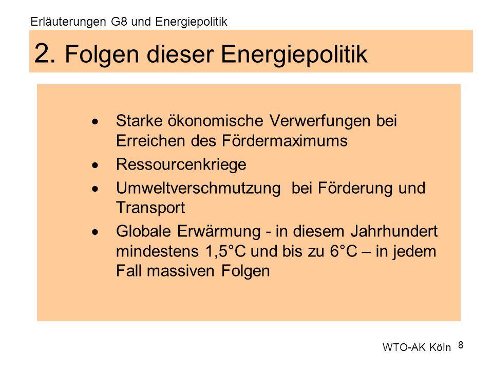 2. Folgen dieser Energiepolitik