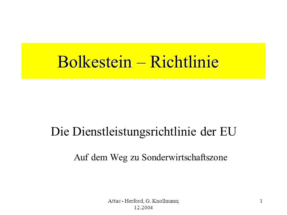 Bolkestein – Richtlinie
