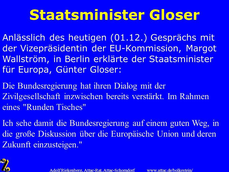 Staatsminister Gloser