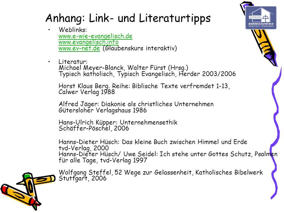 Anhang: Link- und Literaturtipps