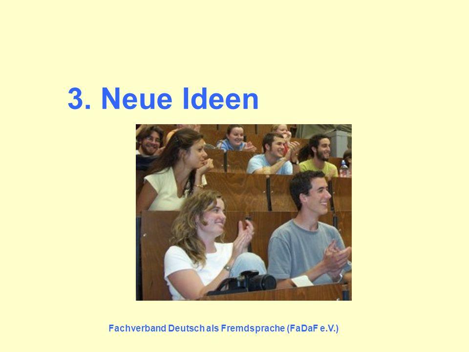 Fachverband Deutsch als Fremdsprache (FaDaF e.V.)