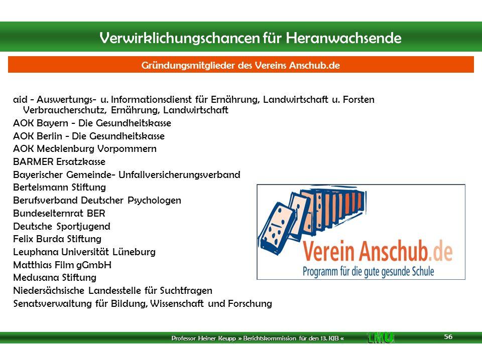 Gründungsmitglieder des Vereins Anschub.de