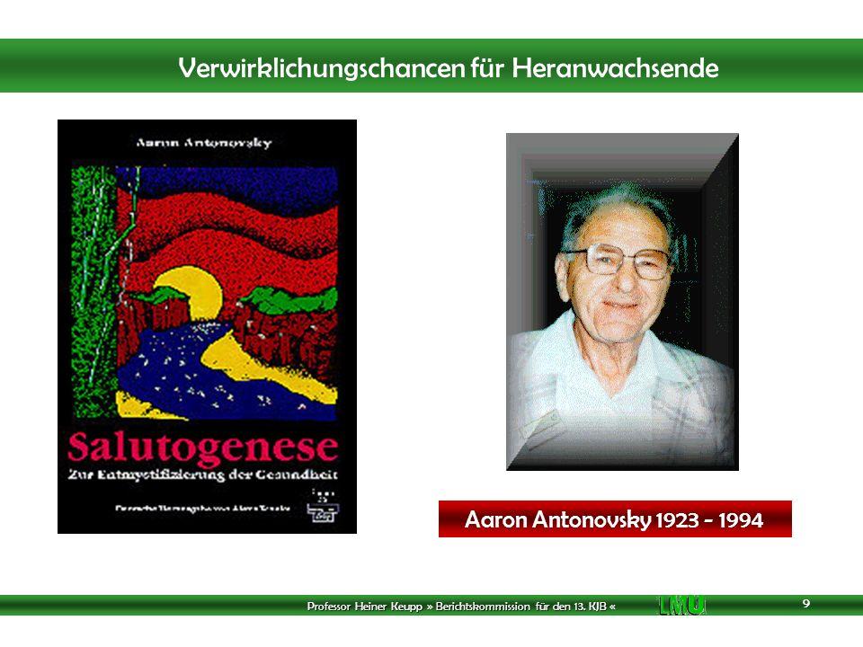 Aaron Antonovsky 1923 - 1994