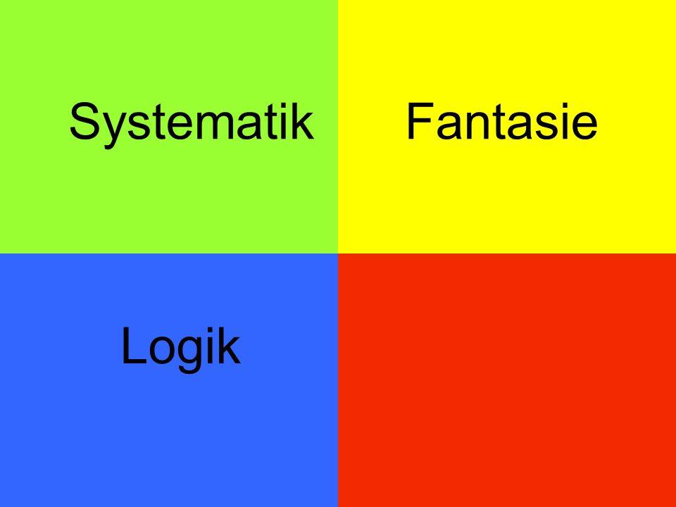 Systematik Fantasie Logik