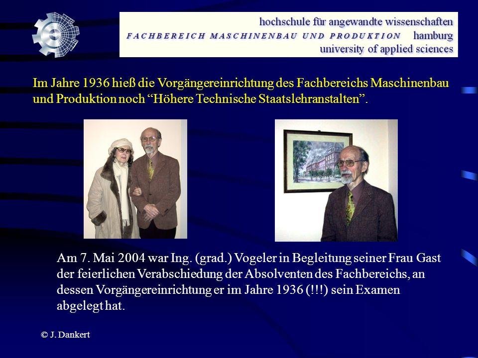 Im Jahre 1936 hieß die Vorgängereinrichtung des Fachbereichs Maschinenbau und Produktion noch Höhere Technische Staatslehranstalten .