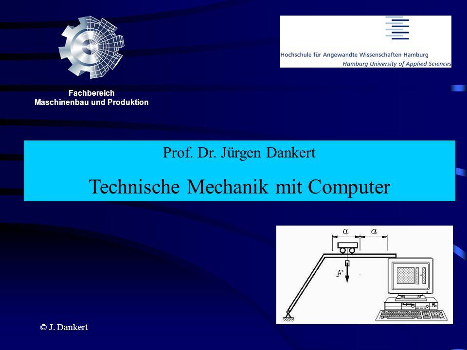 Fachbereich Maschinenbau und Produktion