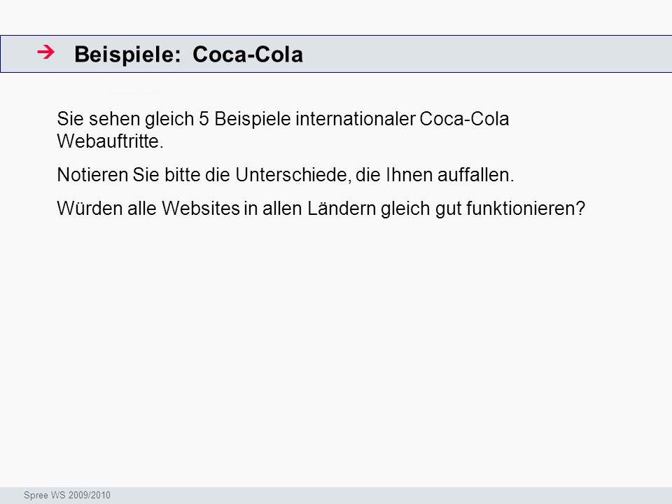 Beispiele: Coca-Cola 
