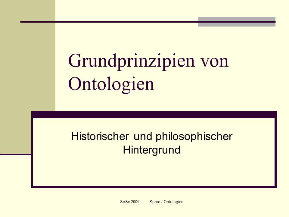 Grundprinzipien von Ontologien