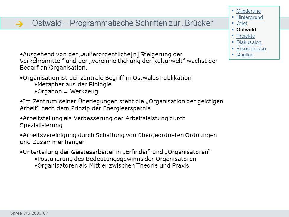 """ Ostwald – Programmatische Schriften zur """"Brücke"""