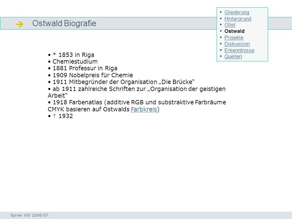  Ostwald Biografie * 1853 in Riga Chemiestudium