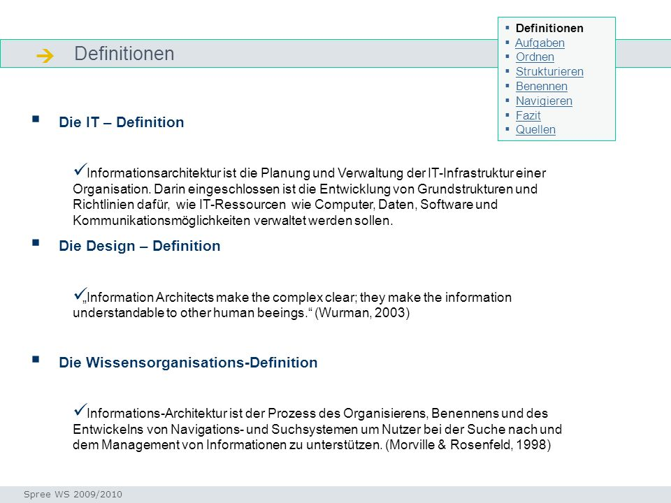  Definitionen Die IT – Definition Die Design – Definition