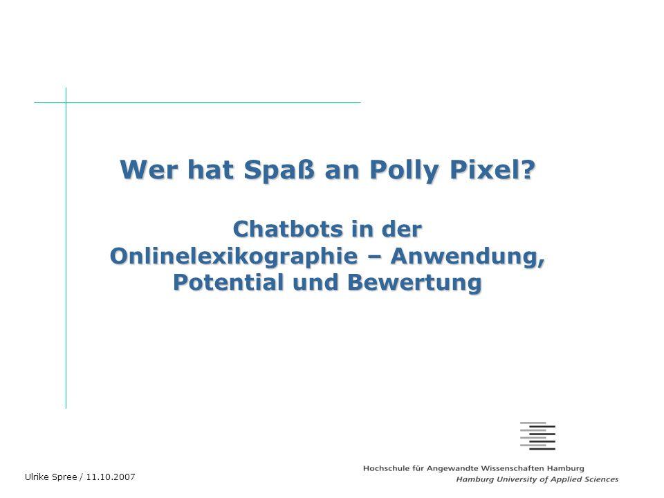 Wer hat Spaß an Polly Pixel