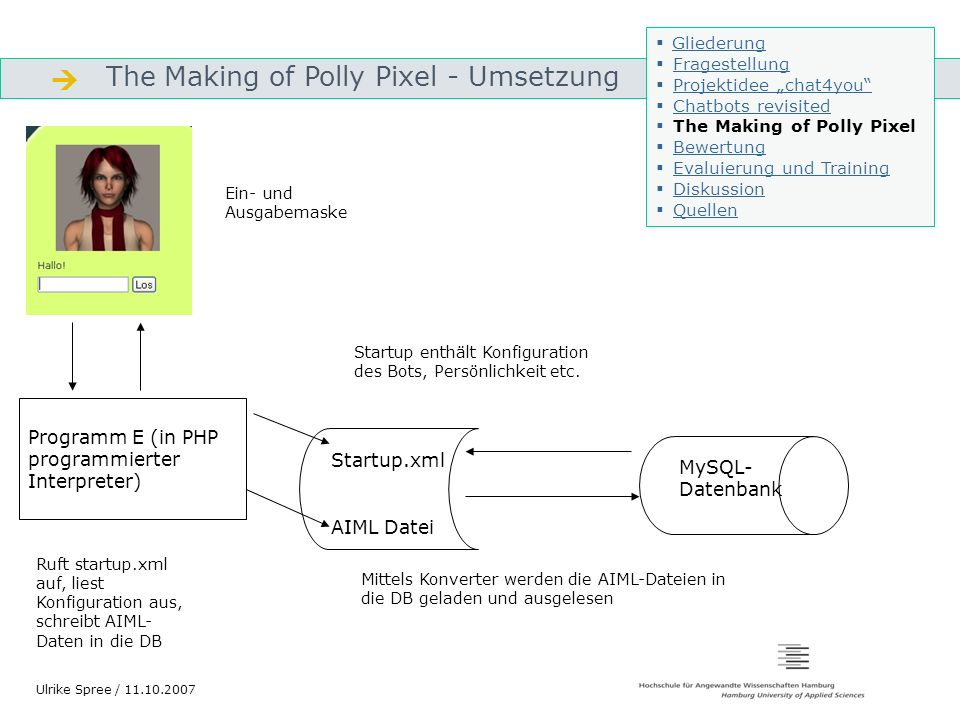  The Making of Polly Pixel - Umsetzung