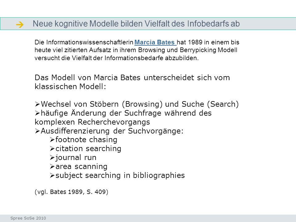 Neue kognitive Modelle