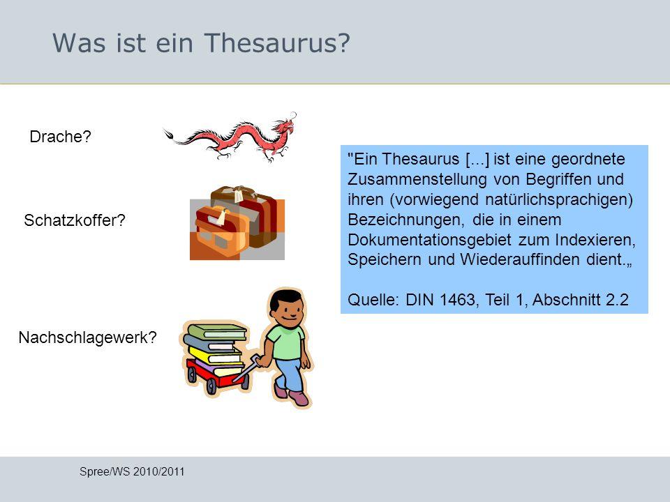 Was ist ein Thesaurus Drache