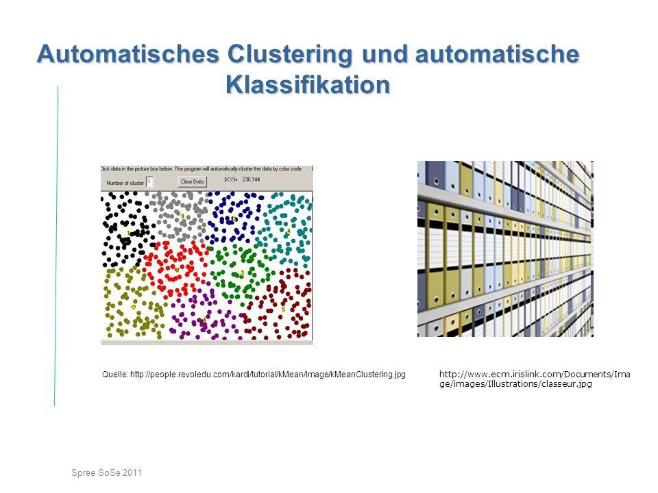 Automatisches Clustering und automatische Klassifikation