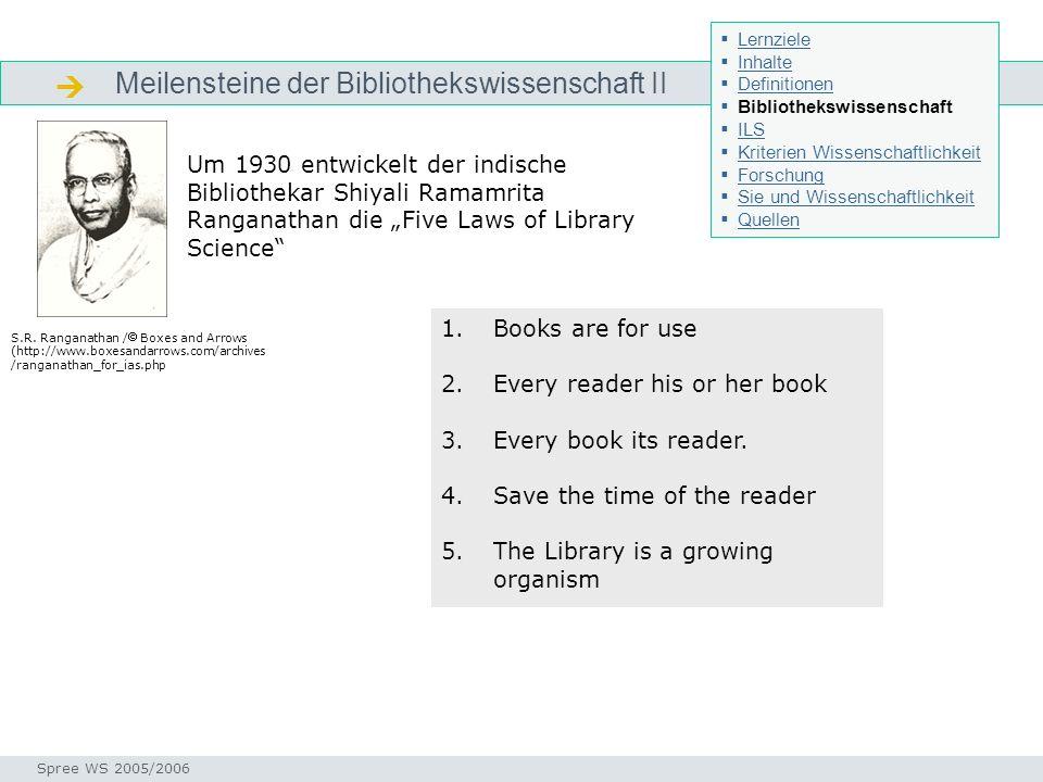 Geschichte bibliothekswissenschaft