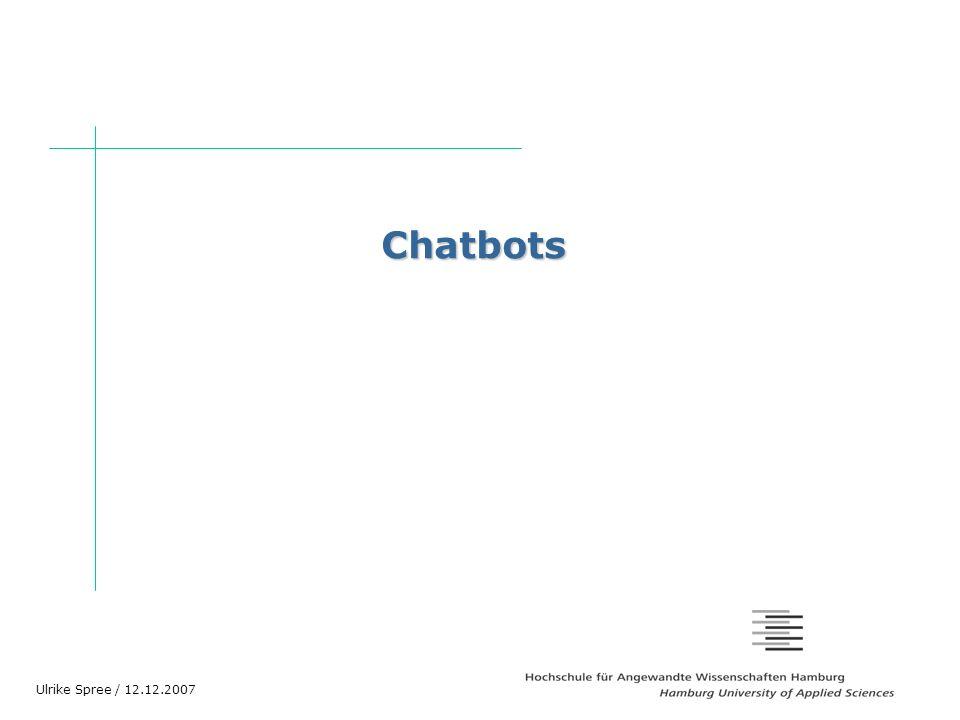 Chatbots Vielen Dank für die freundliche Begrüßung