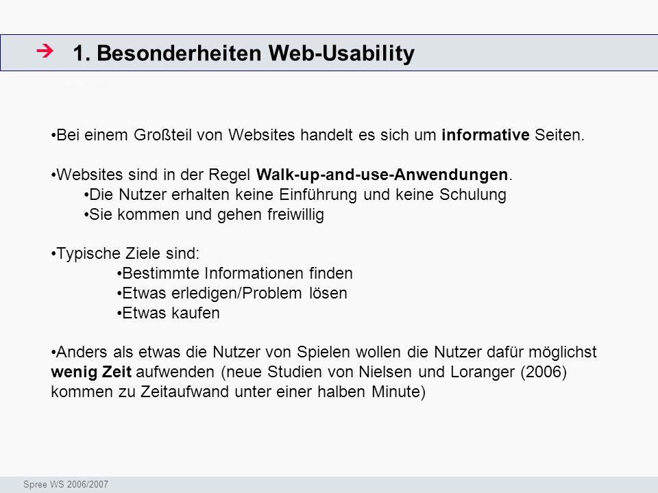 1. Besonderheiten Web-Usability