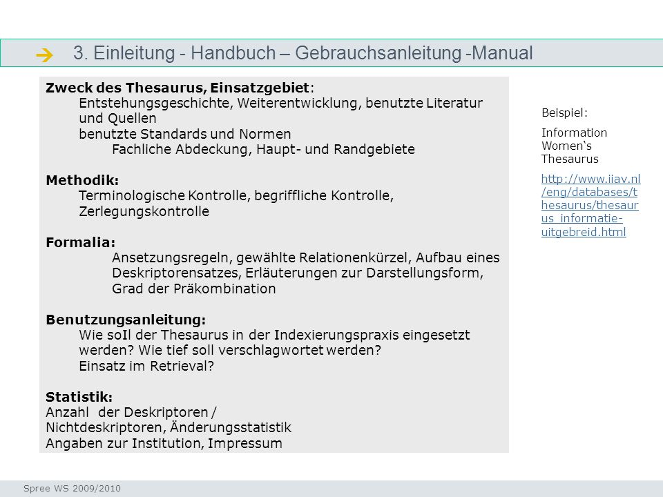  3. Einleitung - Handbuch – Gebrauchsanleitung -Manual