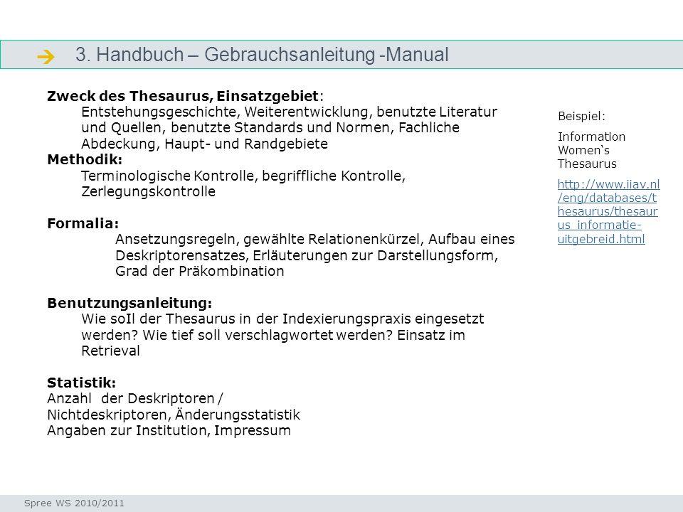  3. Handbuch – Gebrauchsanleitung -Manual