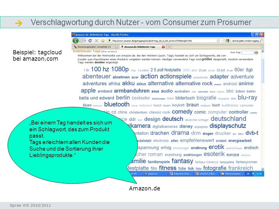  Verschlagwortung durch Nutzer - vom Consumer zum Prosumer