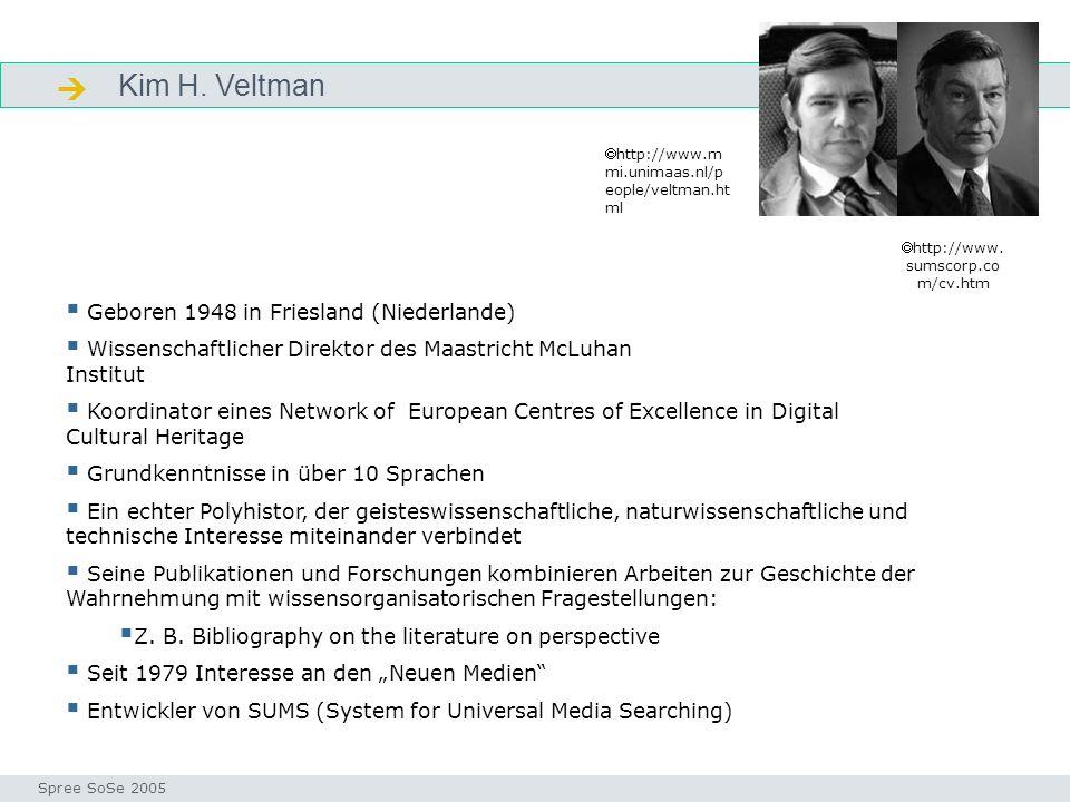  Kim H. Veltman Geboren 1948 in Friesland (Niederlande)