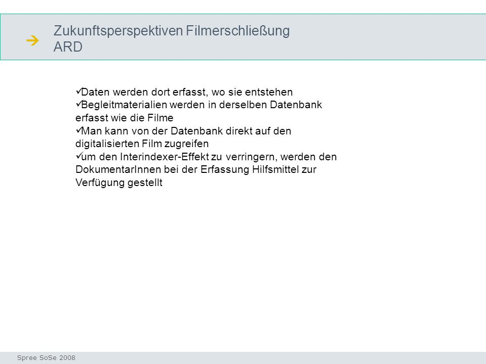  Zukunftsperspektiven Filmerschließung ARD