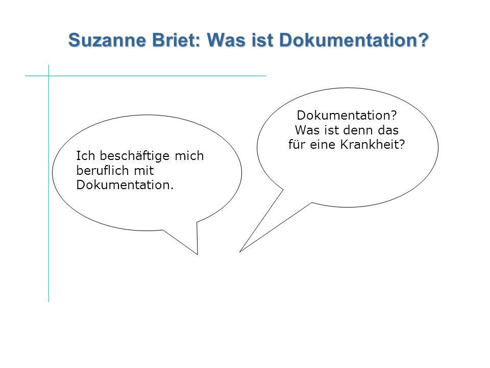 Suzanne Briet: Was ist Dokumentation
