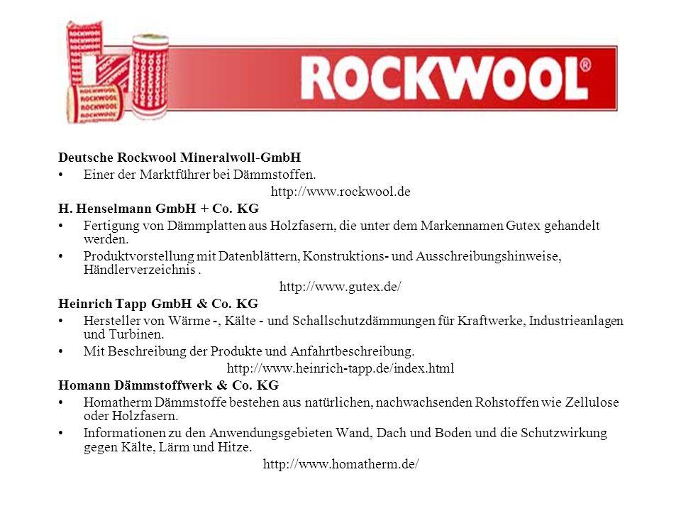Deutsche Rockwool Mineralwoll-GmbH