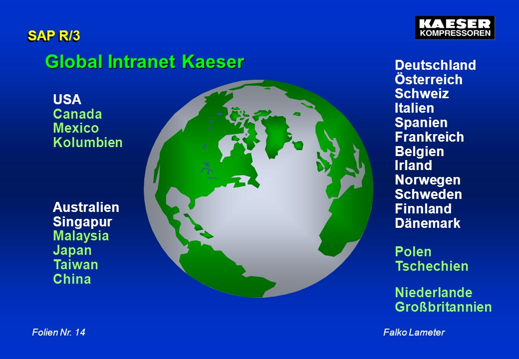 Global Intranet Kaeser