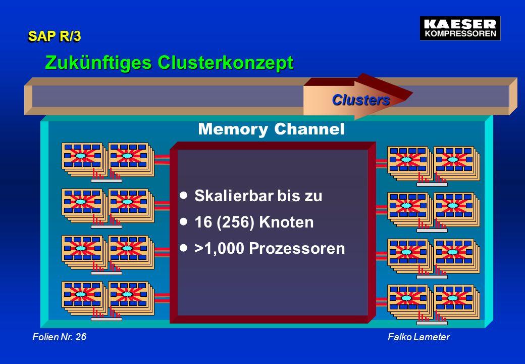Zukünftiges Clusterkonzept