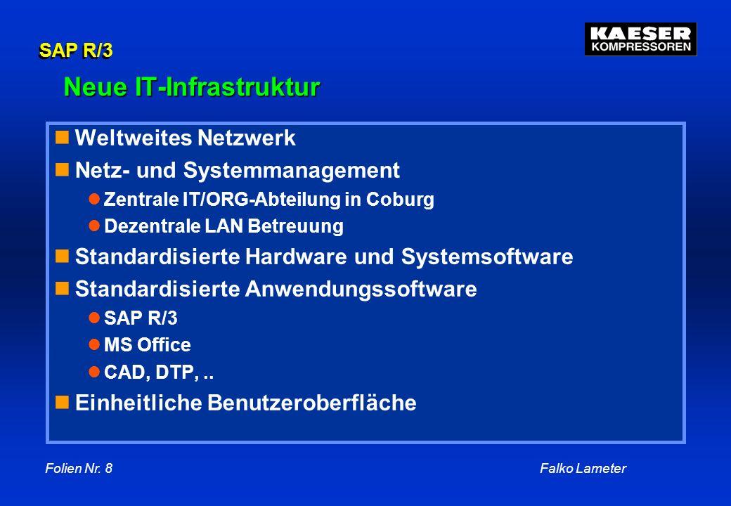 Neue IT-Infrastruktur