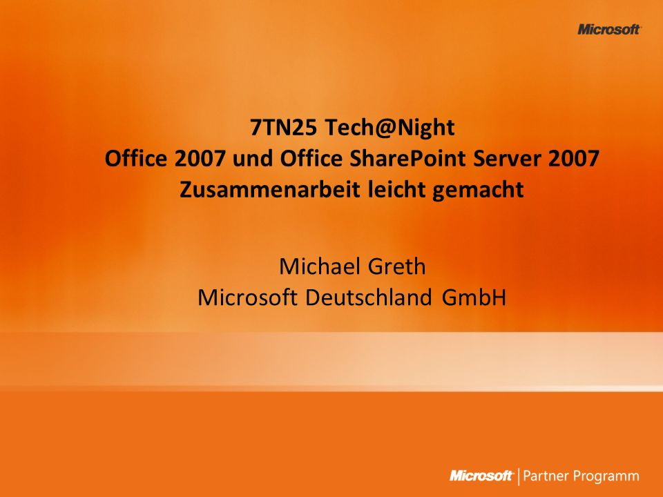 Microsoft Deutschland GmbH
