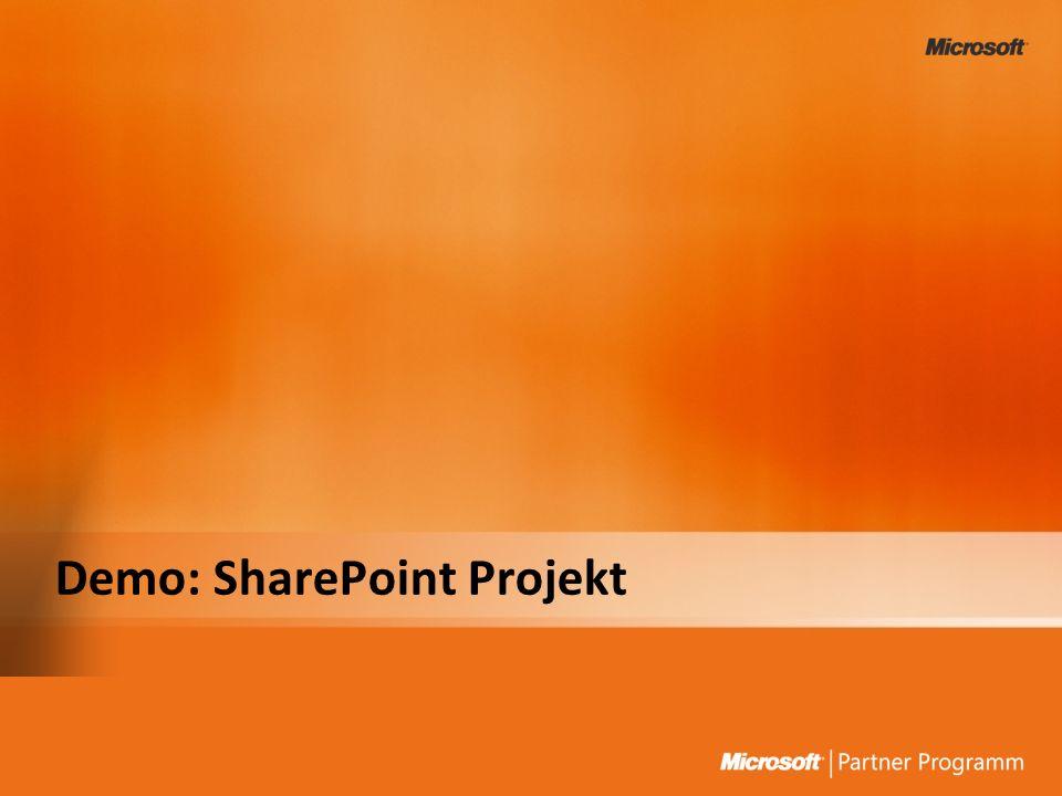 Demo: SharePoint Projekt